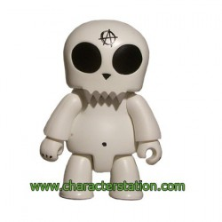 Qee Kozik Anarchy : Toyer Blanc