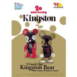 Qee Kingston Bear (Red)