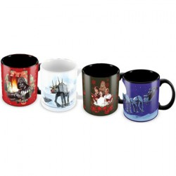 Tasses Star Wars The Force Awakens 4 Espresso Ceramic