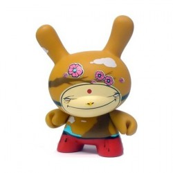 Kidrobot Dunny 2006 Los Angeles Fawn Gehweiler
