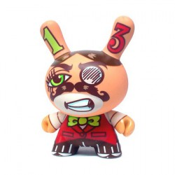 Kidrobot Dunny 2006 Los Angeles par Michael Motorcycle