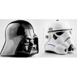 Toys star wars darth vader and stormtrooper salt and - Darth vader and stormtrooper salt and pepper shakers ...