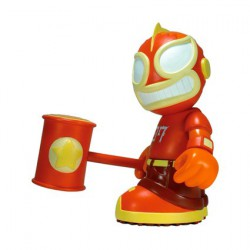 El Robot Loco Orange Kidrobot 07 von Tristan Eaton
