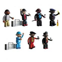 Mini figurines Bitdz von Oakland's Warning Label Design