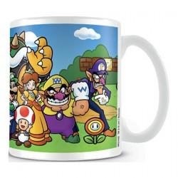Tasse Super Mario Mushroom Kingdom Mug