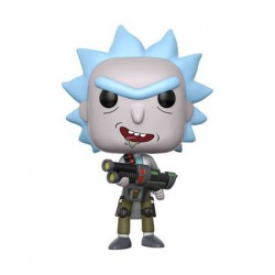 Pop Cartoons Rick et Morty Weaponized Rick