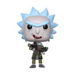 Pop Cartoons Rick et Morty Weaponized Rick