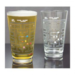 Pac-man Colour Change Glass (1 stuck)