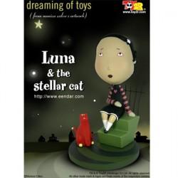 Luna & the Stellar Cat (16 cm)