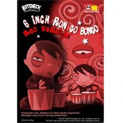 Ron Go Bongo Rouge 16 cm par Curtis Jobling
