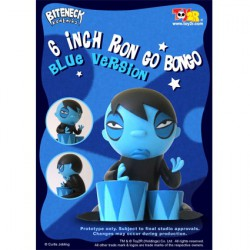 Ron Go Bongo Bleu 16 cm par Curtis Jobling