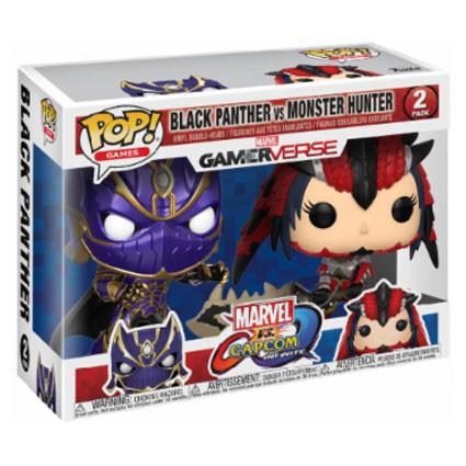Toys Pop Games Black Panther Vs Monster Hunter 2 Pack
