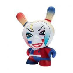 Kidrobot Dunny Batman x Kidrobot Harley Quinn