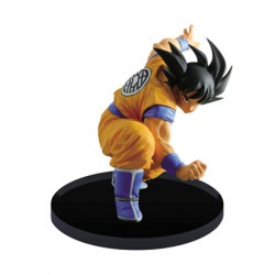Dragon Ball Scultures Metalic Version Young Son Goku