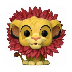 Pop The Lion King Rafiki whit Baby Simba Flocked Edition Limitée