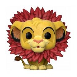 Pop The Lion King Rafiki whit Baby Simba Flocked Limitierte Auflage