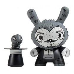 Kidrobot Dunny Scared Silly The Amazing Alumit von Jenn & Tony Bot