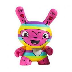 Kidrobot Dunny Scared Silly The Littlest Lovebug von Jenn & Tony Bot
