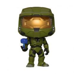 Pop Games Halo Helmeted Orbital Drop Shock Trooper Buck