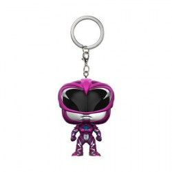 Pocket Pop Schlüsselanhänger Power Rangers Movie Black Ranger