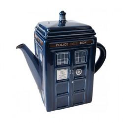 Dr. Who Tardis Ceramic Jar