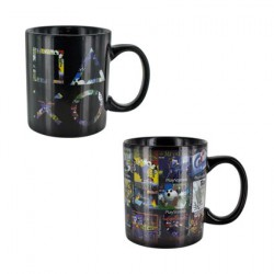 Tasse Call of Duty Epic Six Pack Thermosensible (1 pcs)