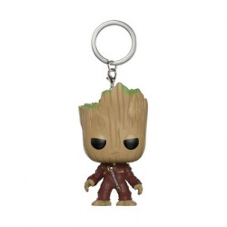 Pop Pocket Porte-clés Guardians of the Galaxy Dancing Groot