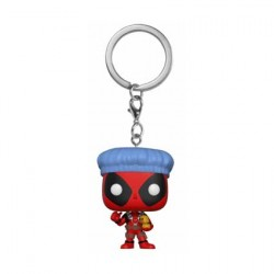 Pop Pocket Schlüsselanhänger Marvel Deadpool with Swords
