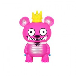 Monster Bossy Bear Pink by David Horvath