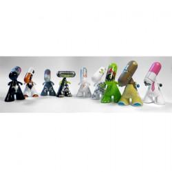 Display of 20 pieces Zee Designer Series One (Swiss Design)