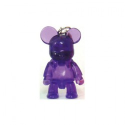 Qee Mini Bear Clear : Violet