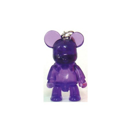 Qee Mini Bear Clear : Violet