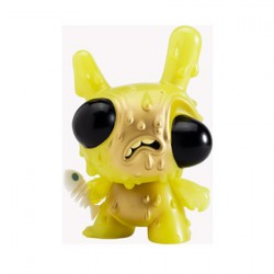 Dunny Meltdown Vert Phosphorescent par Chris Ryniak