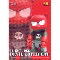 Qee Devil Toyer Cat 40 cm (Without box) by Raymond Choy