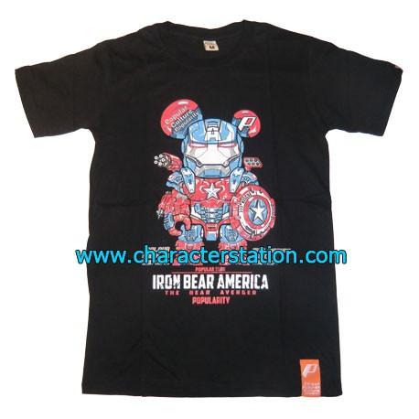 T-shirt Iron Bear America