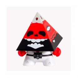 Dunny Pyramidun Rouge par Andrew Bell