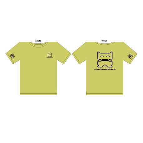 T-Shirt CS Femme : Vert (S/36)