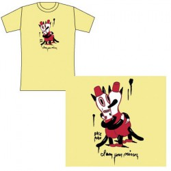 T-Shirt Gary Baseman : I Am Your Mirror (L)