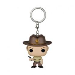 Pop Pocket Keychain The Walking Dead Rick Grimes