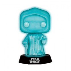 Pop Star Wars Holographic Emperor Phosphorescent