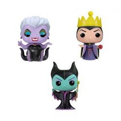 Pocket Pop! Tins: Disney - Maleficent, Ursula, Evil Queen 3 pack