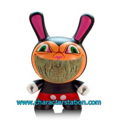 Kidrobot Dunny Grin par Ron English (20 cm)