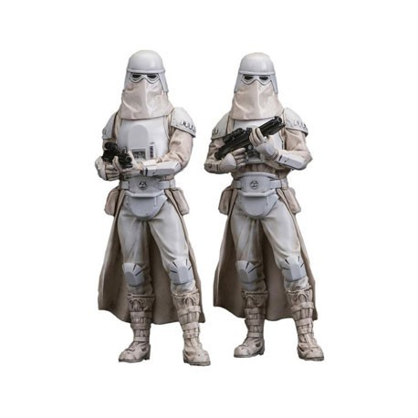 Preorder Star Wars The Force Awakens Snowtrooper ARTFX+ (2 pcs)