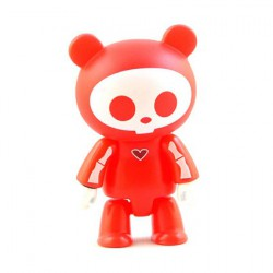 Qee Skelanimals Chungkee Rouge
