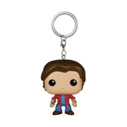 Pop Pocket Porte-clés Supernatural Sam