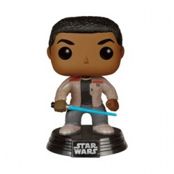 Pop Star Wars The Force Awakens Finn with Lightsaber
