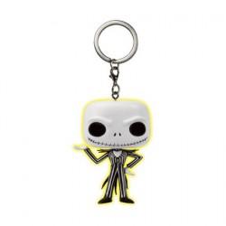 Pop Pocket Keychains Jack Skellington GITD