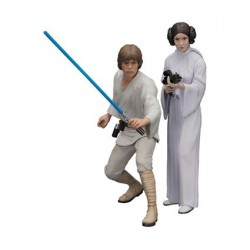 Star Wars Kotobukiya Luke Skywalker et Princesse Leia