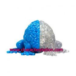 Jumping Brain Light Blue und Phosphoreszierend
