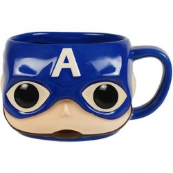 Funko Pop Mug Marvel Captain America